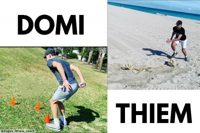 Dominic Thiem reveals training drill in Miami Beach