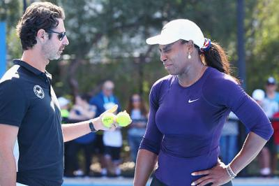 Coach praises Serena Williams for desire to keep improving