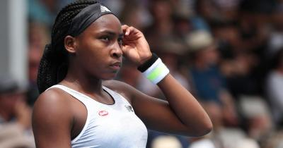 'You can't curse,' 15-year-old Coco Gauff chides dad during Auckland Classic