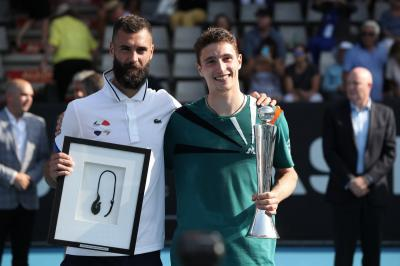 Benoit Paire shows class after losing tight Auckland final