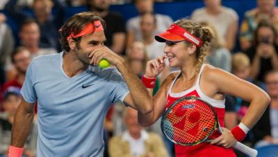 Belinda Bencic: I would be happy to play with Roger Federer at the Olympics
