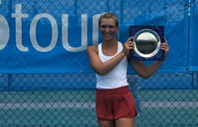 Maddison Inglis: I'm looking forward to playing bigger tournaments