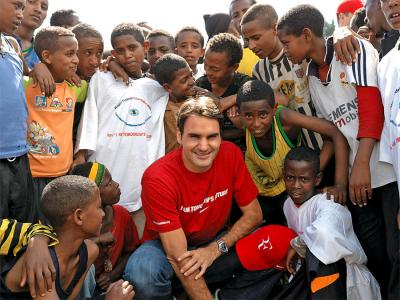 Roger Federer Foundation's road to success: from $400K to $10M yearly donations