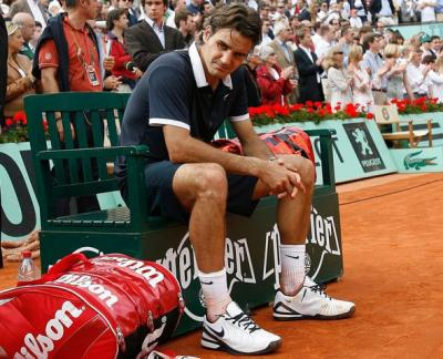 Roger Federer's three worst defeats on clay
