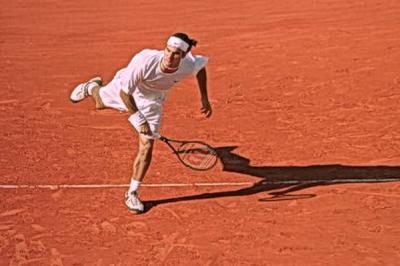 In Roger Federer's words: 'I have to improve my movement on clay'