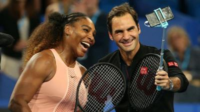 """Serena Williams: """"Roger Federer is the greatest of all time on and off the court"""""""