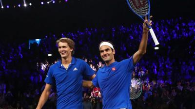 """Alexander Zverev: """"It's tough to have Roger Federer as idol"""""""
