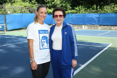 Billie Jean King and Angelique Kerber on the Cancellation of Wimbledon