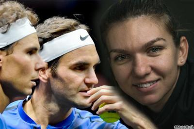 Top player compares Simona Halep to Roger Federer and Rafael Nadal
