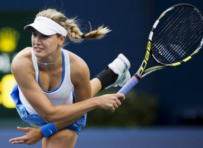 """Eugenie Bouchard accepts to go on a date with a fan """"for charity"""""""