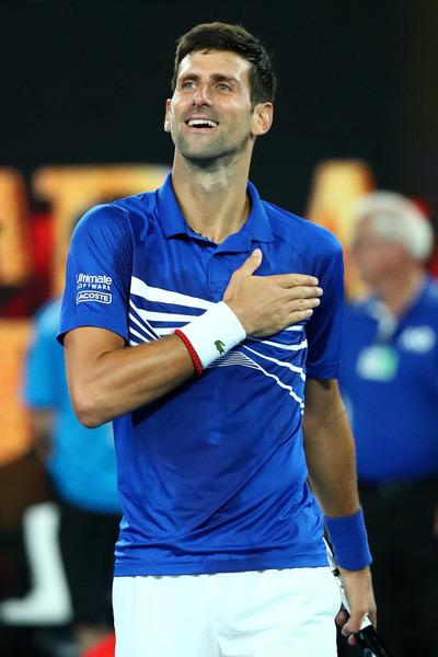 How Novak Djokovic is turning the Pandemic into a Panorama of happier times