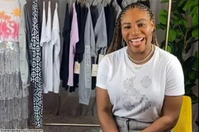 """Serena Williams enjoys her time away from tennis: """"I am pretty serene"""""""