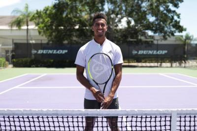 American tennis player Michael Mmoh signs with Dunlop