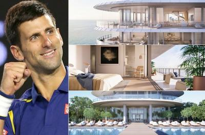 Lifestyles of the rich and famous: Novak Djokovic