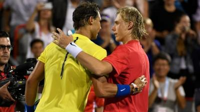 Shapovalov: French Open great chance for Nadal to tie Federer's all-time record