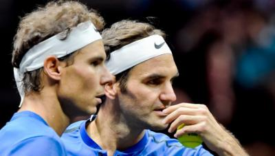Rafael Nadal: 'When you ask me about Roger Federer's record, I always say...'