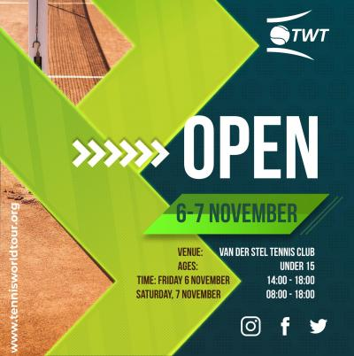 WE WAIT YOU FOR OPEN and UNDER 15 TOURNAMENTS