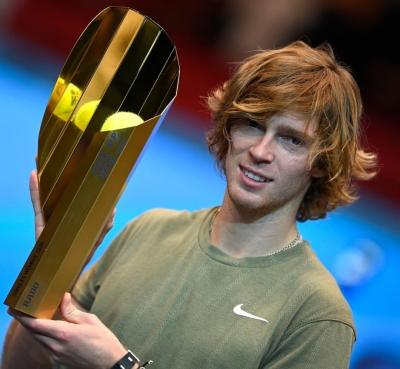 Everything's coming up titles as Andrey Rublev captures 5th title this year in Vienna