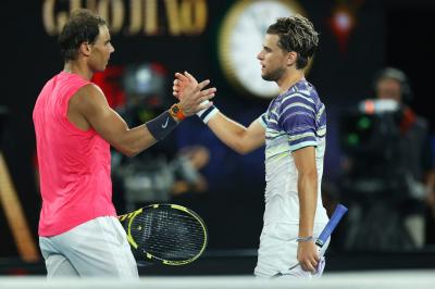 Dominic Thiem: Nadal & Djokovic are up there still, Federer set to make comeback