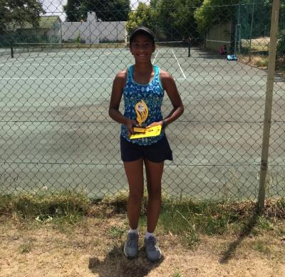 TENNIS WORLD TOUR: STAR OF SHILOH DANIELS SHINES