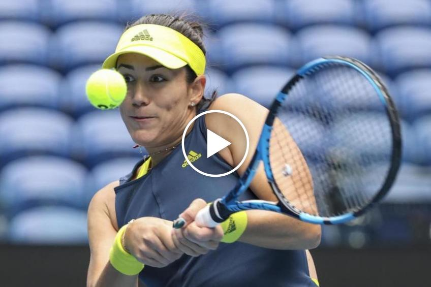 WTA Doha: Garbine Muguruza vs Kudermetova's HIGHLIGHTS