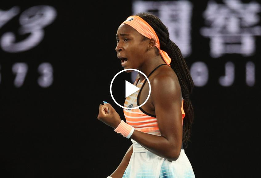 WTA Doha: Cori Gauff vs Vondrousova's HIGHLIGHTS