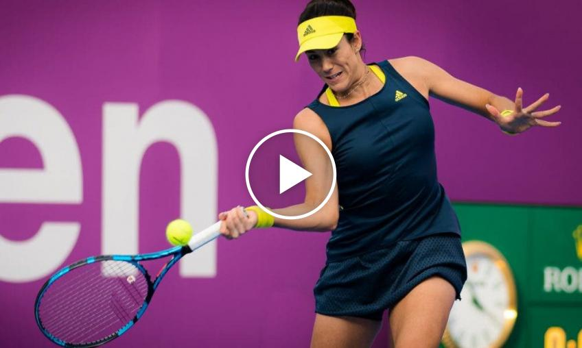 WTA Dubai: Garbine Muguruza vs Swiatek's HIGHLIGHTS