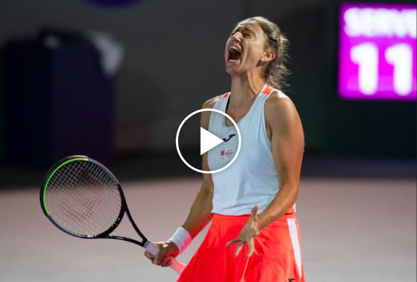 WTA Guadalajara: Bouchard vs Sorribes-Tormo's HIGHLIGHTS