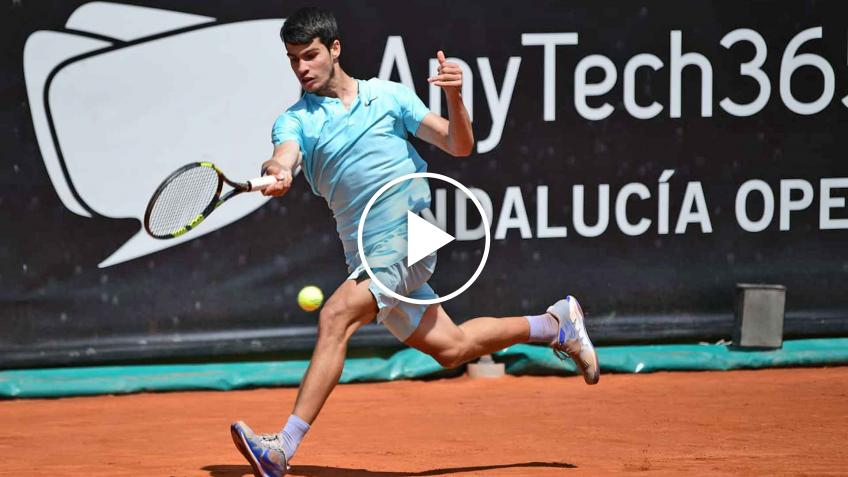 ATP Andalucia Open 2021: Carlos Alcaraz and the daily HIGHLIGHTS