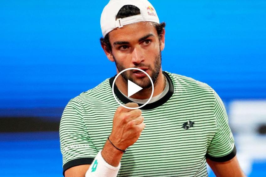 ATP Belgrade 2021: Berrettini vs Karatsev's HIGHLIGHTS