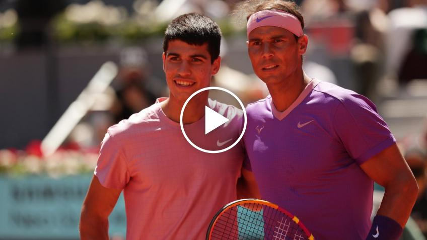 ATP Madrid 2021: Rafael Nadal vs Alcaraz's HIGHLIGHTS AND SHOTS