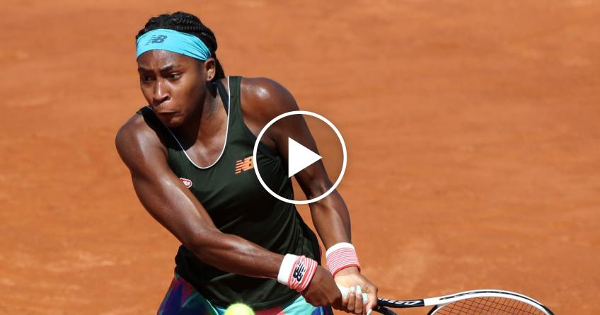 WTA Rome 2021: Cori Gauff vs Putintseva's HIGHLIGHTS
