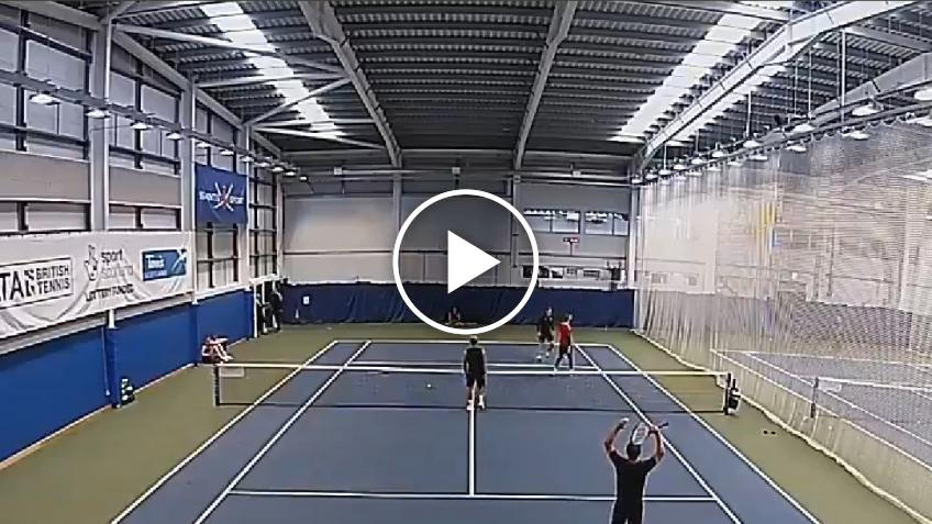 David De Gea plays tennis and asks a wild card for the US Open!