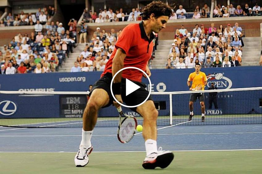 US Open: the best shots and tricks ever