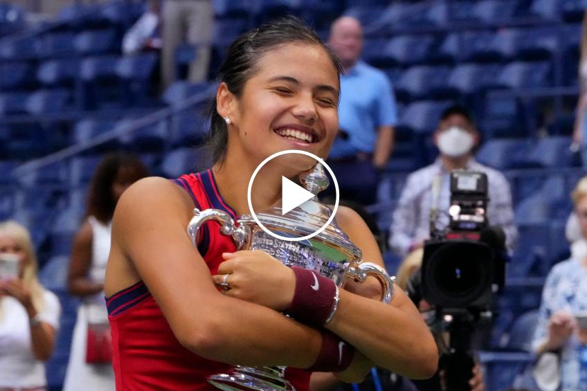 US Open 2021: Emma Raducanu's press conference after the title