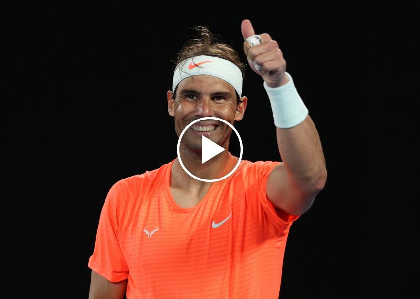 Rafael Nadal surprises and moves a 90-year-old fan