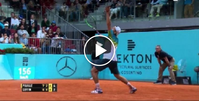 Stop volley of the year by David Goffin