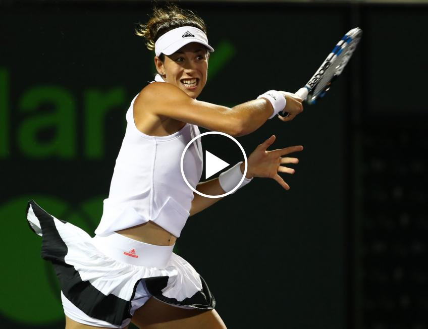 Sumyk to Muguruza: 'Don't tell me to shut the f*** up again' (VIDEO INSIDE)