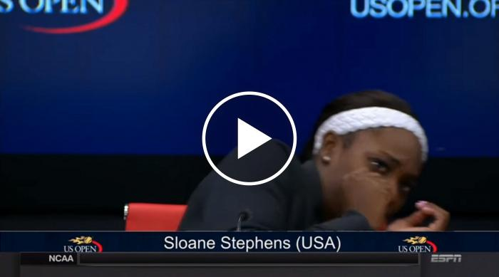 Sloane Stephens Scared By Bug At US Open