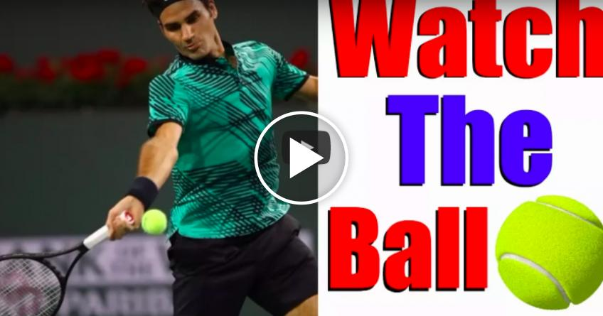 How To Watch The Ball Perfectly In Tennis
