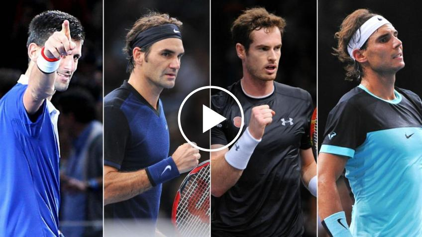 Federer, Nadal, Djokovic, Murray: who has marked the last years the most?