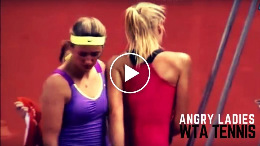 Ladies Become Monsters - WTA Angry Moments
