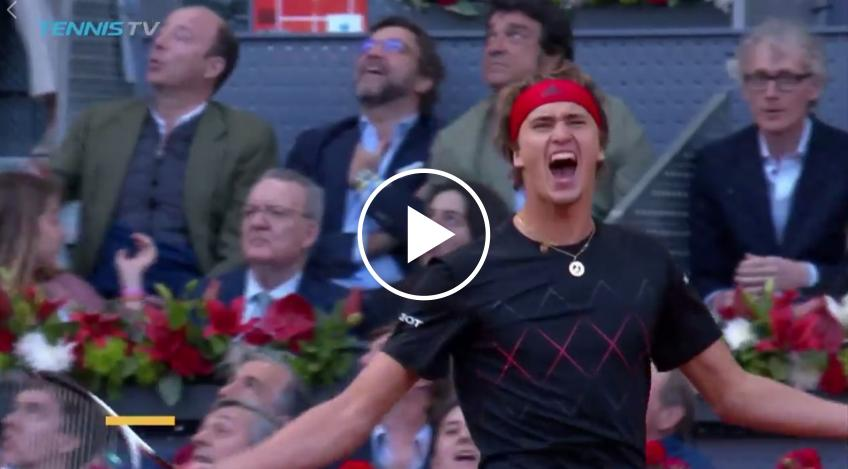 Zverev vs Thiem MATCH POINT