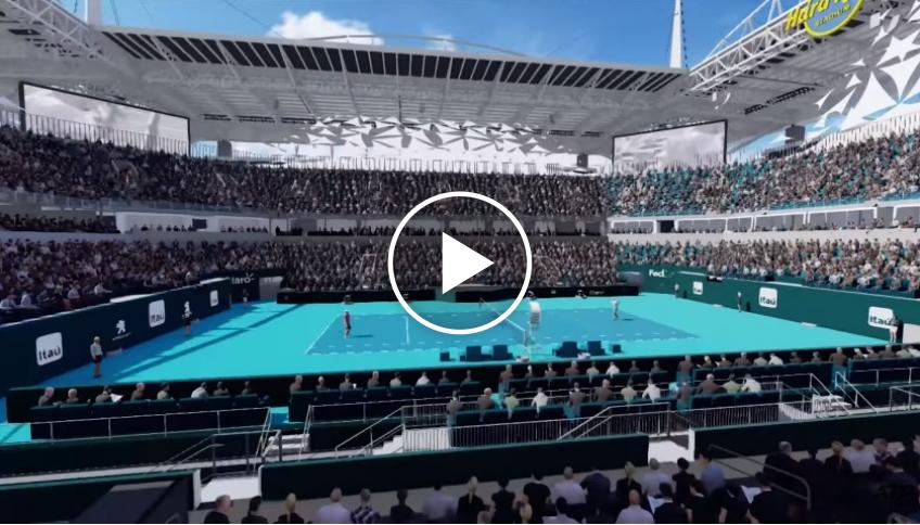 This is the new Miami Open venue