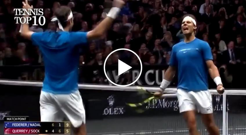 Federer and Nadal - Top 10 Bromance Moments