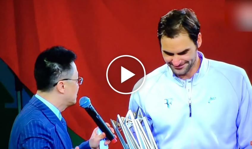 Roger Federer and Rafael Nadal - Chinese Language Lesson Shanghai 2017