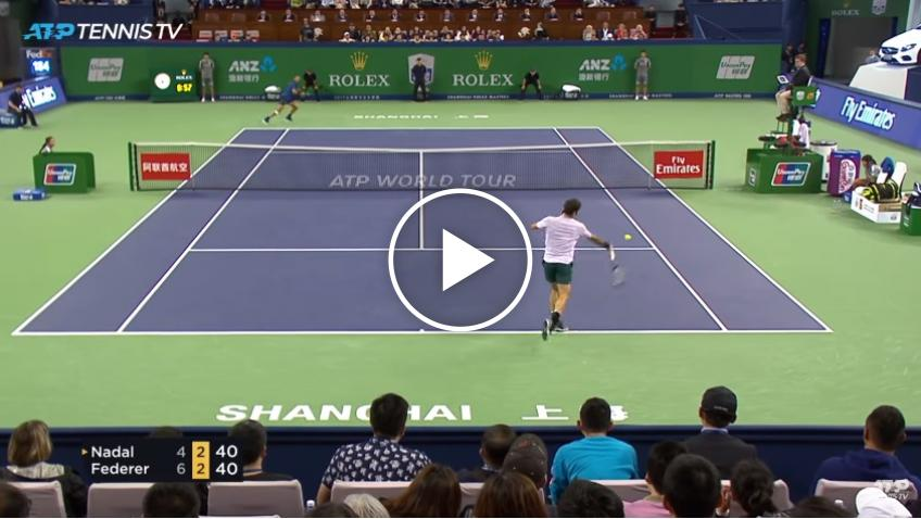 Federer vs Nadal: greatest ATP shots and rallies