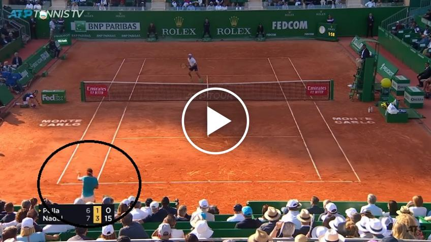 Nadal Rockets Forehand Past Pella