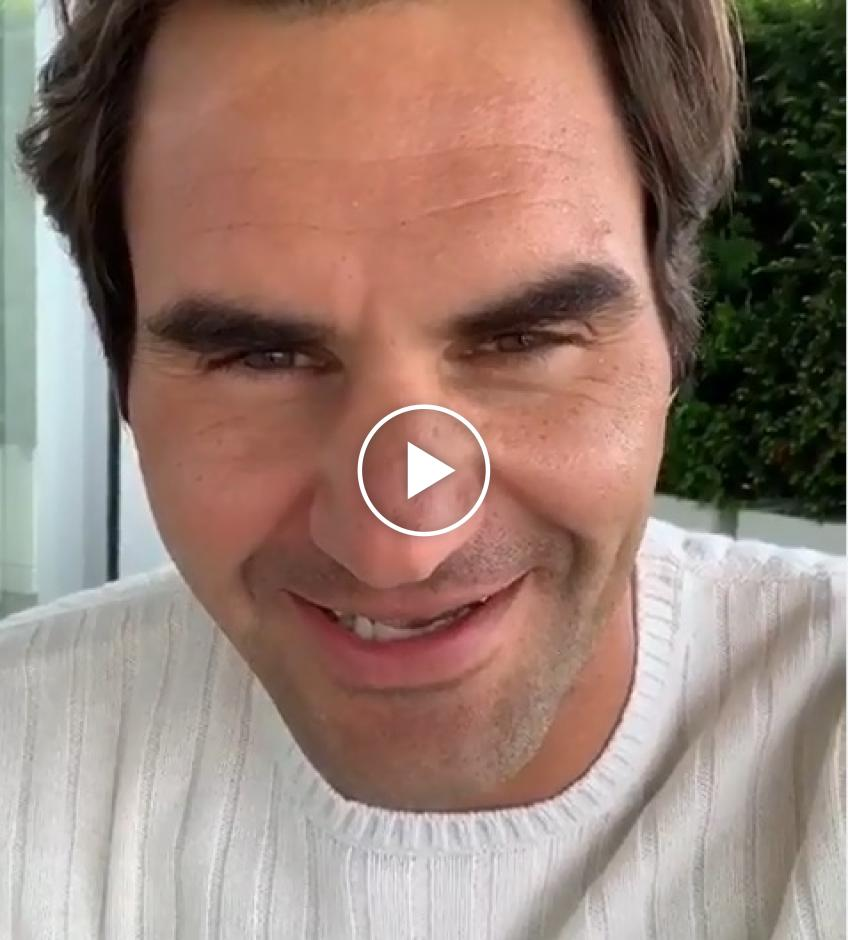 Roger Federer sends message to his Italian fans