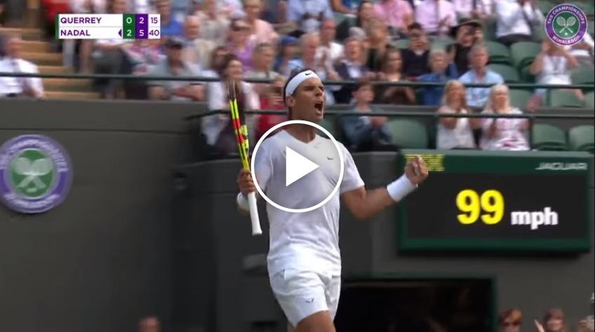 Nadal vs Querrey Match Point